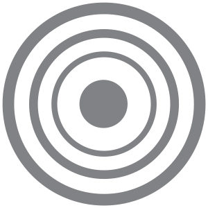 Grey Target – Pack of 12